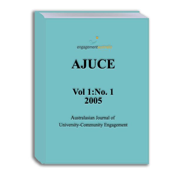 AJUCE Vol 1 - No 1